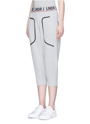 Front View - Click To Enlarge - Lndr - 'Pluto' cropped track pants