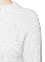 'Finn' wool-cashmere rib knit sweater