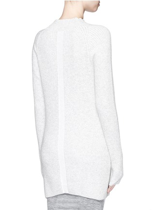 Back View - Click To Enlarge - LNDR - 'Finn' wool-cashmere rib knit sweater