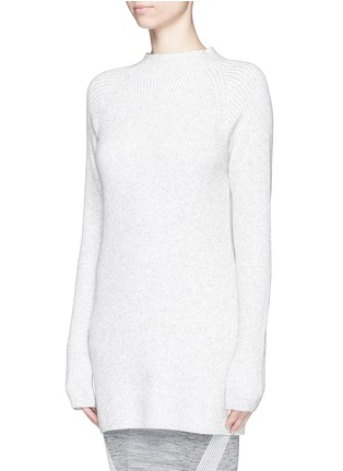 Front View - Click To Enlarge - Lndr - 'Finn' wool-cashmere rib knit sweater
