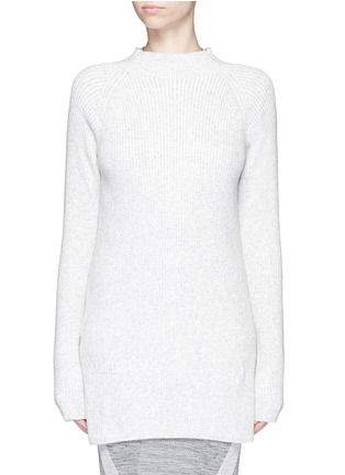 Main View - Click To Enlarge - Lndr - 'Finn' wool-cashmere rib knit sweater
