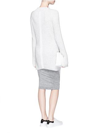 Figure View - Click To Enlarge - LNDR - 'Finn' wool-cashmere rib knit sweater