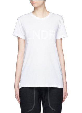 Main View - Click To Enlarge - Lndr - 'Classic' organic cotton jersey T-shirt