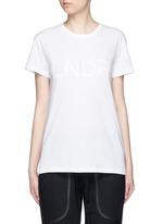 'Classic' organic cotton jersey T-shirt