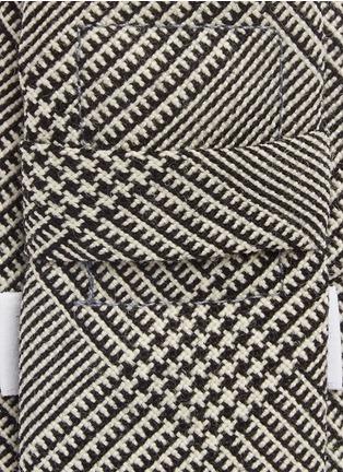 Thom Browne-Glen plaid wool tie