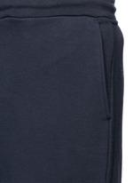 Stripe leg cotton sweatpants