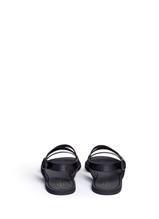 Back View - Click To Enlarge - Cole Haan - 'Edie' crisscross leather slingback sandals