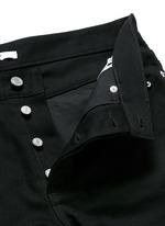 Stud denim jeans