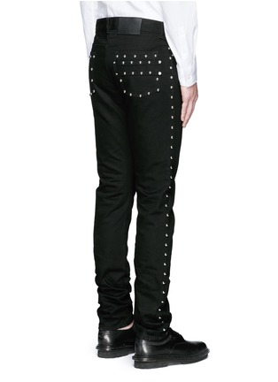 Back View - Click To Enlarge - Givenchy - Stud denim jeans