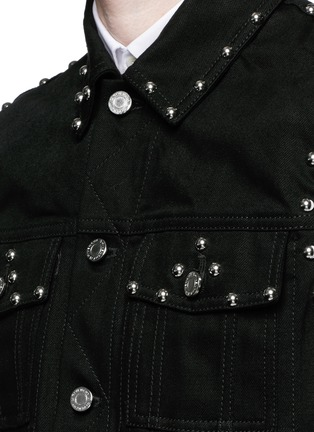 Detail View - Click To Enlarge - Givenchy - Stud denim vest