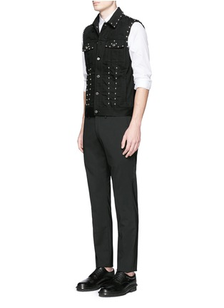 Figure View - Click To Enlarge - Givenchy - Stud denim vest