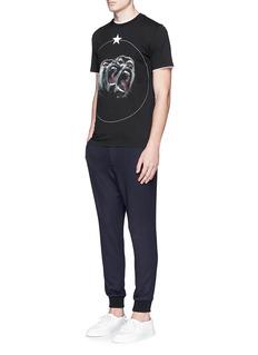 GivenchyMonkey print T-shirt