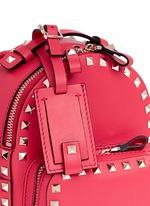 'Rockstud' mini leather backpack
