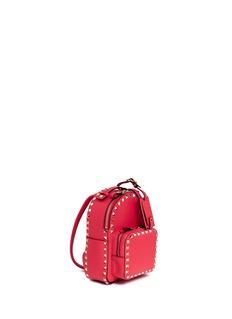 VALENTINO'Rockstud' mini leather backpack