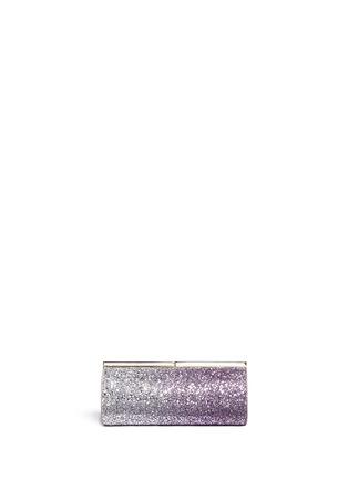 Back View - Click To Enlarge - Jimmy Choo - 'Trinket' dégradé glitter cylinder clutch