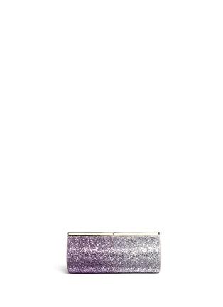 Main View - Click To Enlarge - Jimmy Choo - 'Trinket' dégradé glitter cylinder clutch