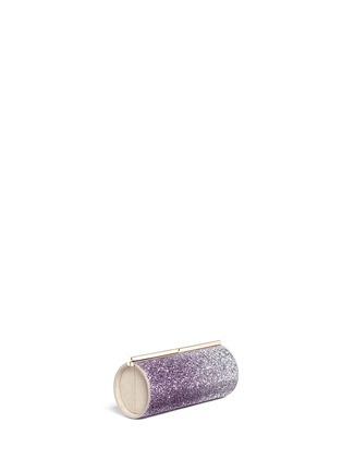 Figure View - Click To Enlarge - Jimmy Choo - 'Trinket' dégradé glitter cylinder clutch
