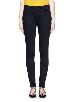 Detail View - Click To Enlarge - VICTORIA, VICTORIA BECKHAM - 'Powerhigh' high waist skinny jeans