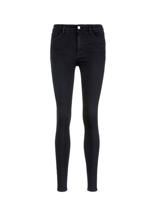 Main View - Click To Enlarge - VICTORIA, VICTORIA BECKHAM - 'Powerhigh' high waist skinny jeans