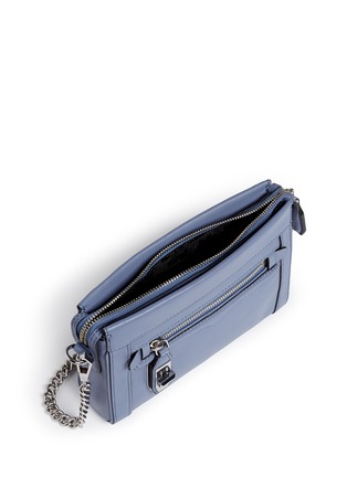 Detail View - Click To Enlarge - Rebecca Minkoff - 'Crosby' mini leather crossbody bag