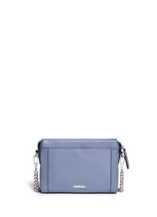 Back View - Click To Enlarge - Rebecca Minkoff - 'Crosby' mini leather crossbody bag