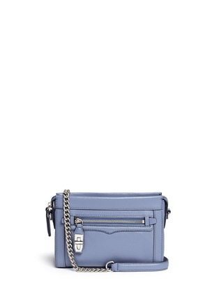 Main View - Click To Enlarge - Rebecca Minkoff - 'Crosby' mini leather crossbody bag