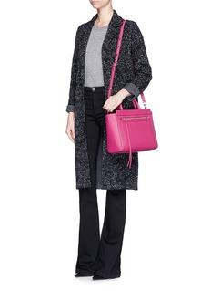REBECCA MINKOFF'Small Monroe' saffiano leather tote