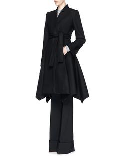 STELLA MCCARTNEY'Dakota' wide leg wool tailoring pants
