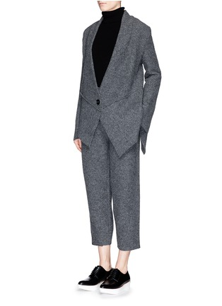 Figure View - Click To Enlarge - Stella McCartney - Boiled wool knit pants