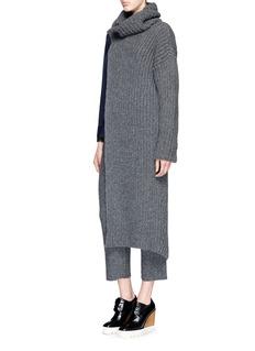 STELLA MCCARTNEYCutout front Fisherman's Rib sweater