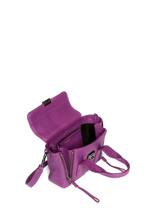 Detail View - Click To Enlarge - 3.1 Phillip Lim - 'Pashli' mini leather satchel
