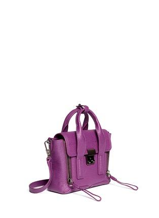 Front View - Click To Enlarge - 3.1 Phillip Lim - 'Pashli' mini leather satchel