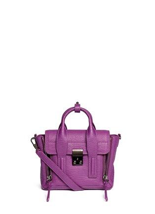 Main View - Click To Enlarge - 3.1 Phillip Lim - 'Pashli' mini leather satchel