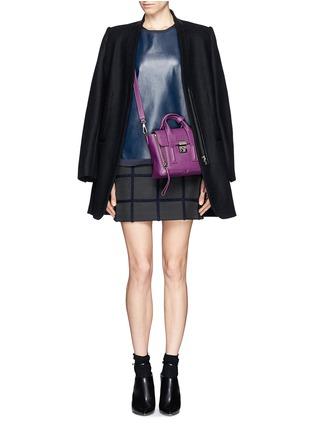 Figure View - Click To Enlarge - 3.1 Phillip Lim - 'Pashli' mini leather satchel