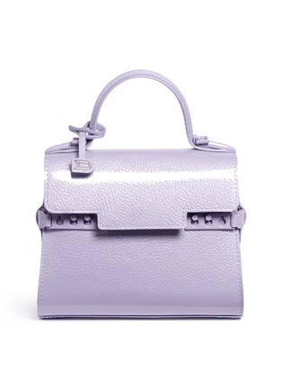 Main View - Click To Enlarge - Delvaux - 'Tempête Micro' leather bag