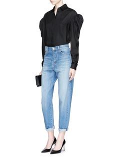 Saint LaurentPuff shoulder twill shirt