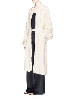 Ms MIN Belted soft trench coat