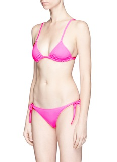 Solid & Striped'Charlotte' side tie bikini bottoms