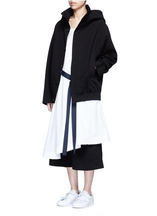 - FFIXXED STUDIOS - Crinkle fabric unisex bomber jacket
