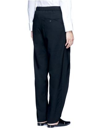 - FFIXXED STUDIOS - Front wrap wool unisex pants