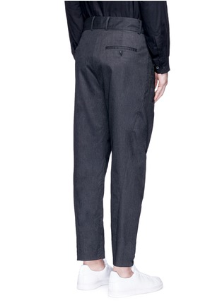 FFIXXED STUDIOS - 'Wutong' pleated tencel unisex pants