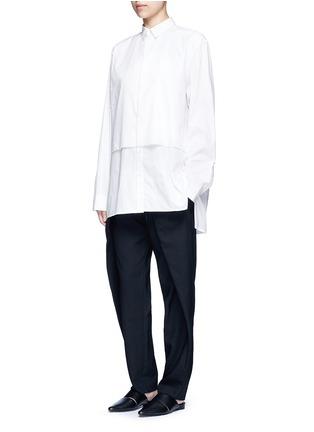 - FFIXXED STUDIOS - Double-layered cotton unisex shirt
