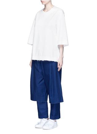 - FFIXXED STUDIOS - Three-quarter sleeve cotton unisex top