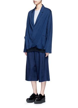 - FFIXXED STUDIOS - Notch lapel unisex pullover