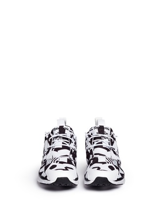 Front View - Click To Enlarge - Reebok - 'Furylite' graphic print neoprene sneakers