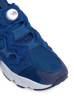 'Instapump Fury SP' speckle print unisex slip-on sneakers