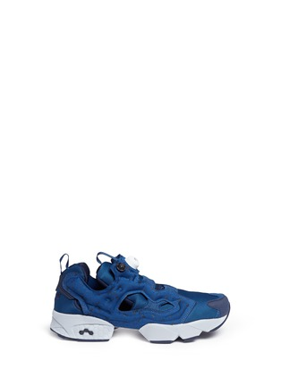 Main View - Click To Enlarge - Reebok - 'Instapump Fury SP' speckle print slip-on sneakers