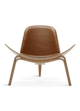 Main View - Click To Enlarge - Carl Hansen & Son - CH07 shell lounge chair