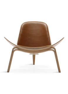 Carl Hansen & Son CH07 shell lounge chair