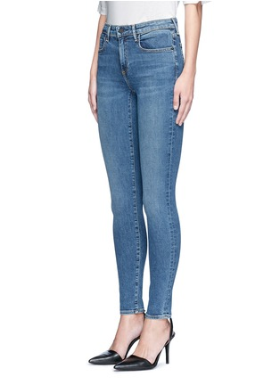 Front View - Click To Enlarge - Alexander Wang  - 'Whip' washed slim fit jeans